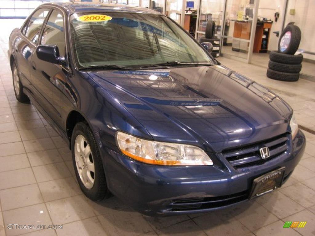2002 Accord EX Sedan - Eternal Blue Pearl / Lapis Blue photo #1