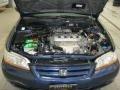 2002 Eternal Blue Pearl Honda Accord EX Sedan  photo #6