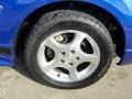 2002 Sonic Blue Metallic Ford Mustang V6 Convertible  photo #15