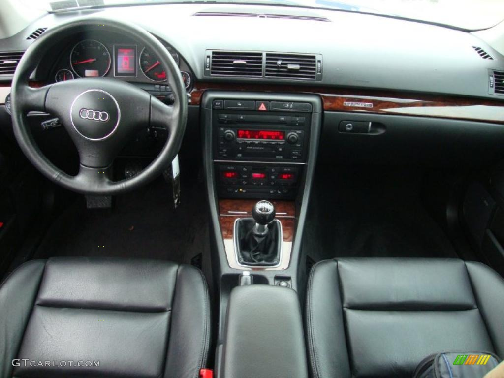 2002 Audi A4 3 0 Quattro Sedan Ebony Dashboard Photo