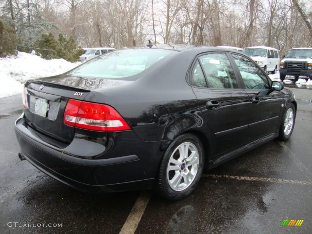 black 2006 saab 9 3 2 0t sport sedan exterior photo. Black Bedroom Furniture Sets. Home Design Ideas