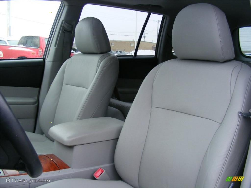 Ash Gray Interior 2008 Toyota Highlander Limited Photo 44582738