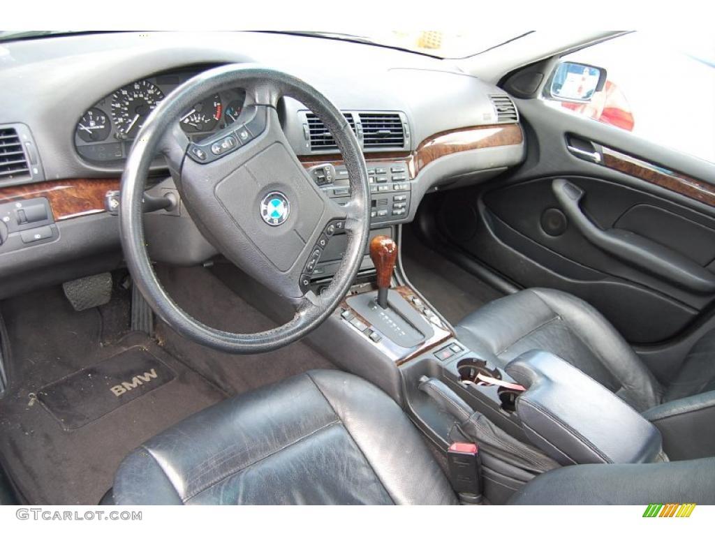 black interior 2000 bmw 3 series 328i sedan photo 44587786