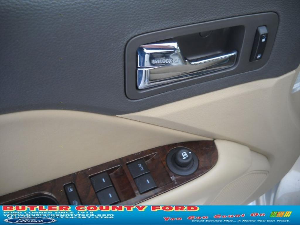 2010 Fusion SEL V6 - Smokestone Metallic / Camel photo #21