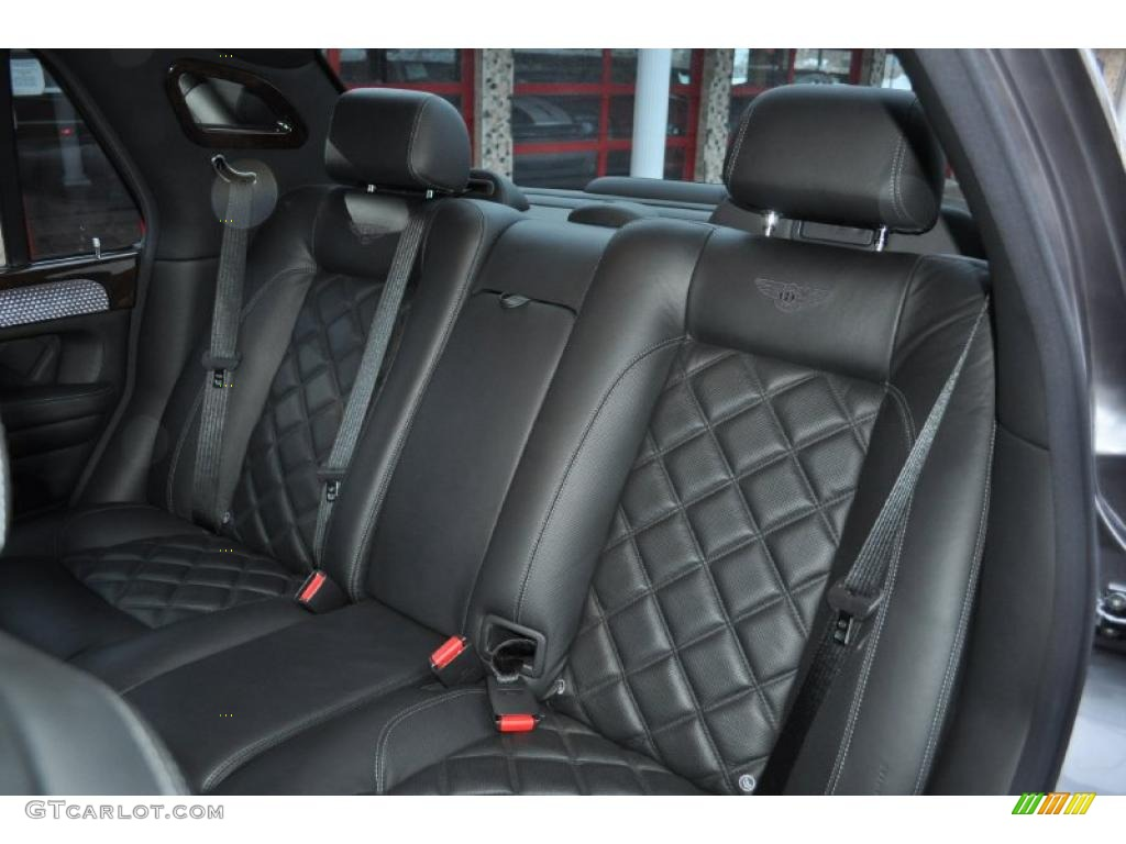 Beluga Interior 2005 Bentley Arnage T Mulliner Photo
