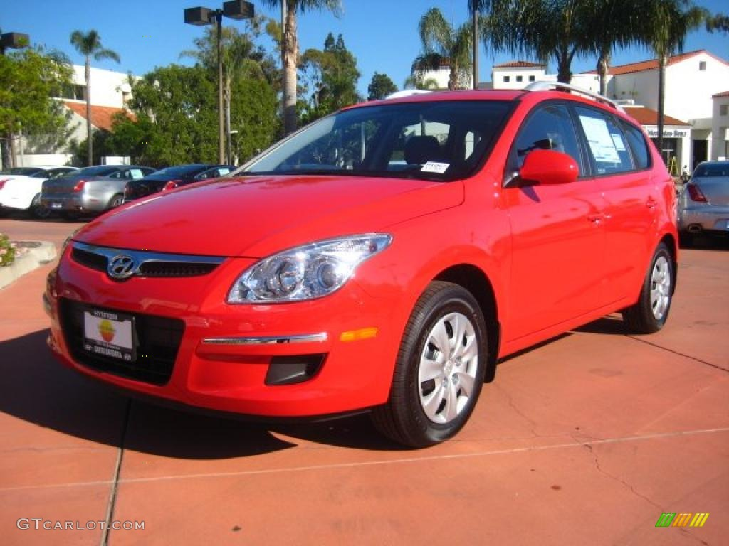 Chilipepper Red 2011 Hyundai Elantra Touring Gls Exterior Photo 44612130 Gtcarlot Com