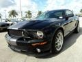 2007 Black Ford Mustang Shelby GT500 Coupe  photo #15