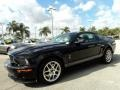 2007 Black Ford Mustang Shelby GT500 Coupe  photo #16