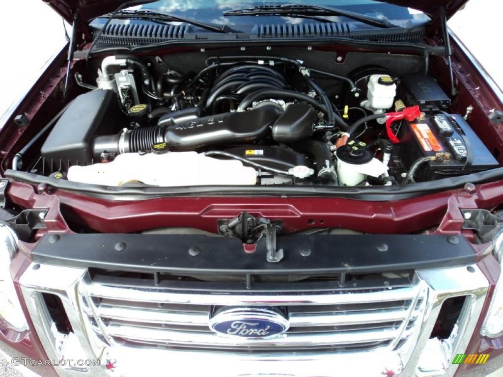 2008 Ford Explorer Eddie Bauer 4 6l Sohc 16v Vvt V8 Engine