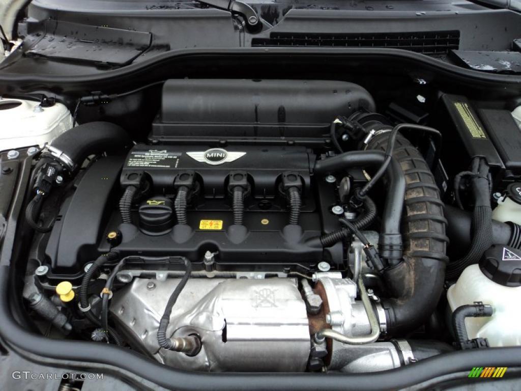 2007 Mini Cooper S Hardtop 1 6 Liter Turbocharged Dohc 16v