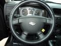 Ebony/Pewter Steering Wheel Photo for 2009 Hummer H3 #44632646