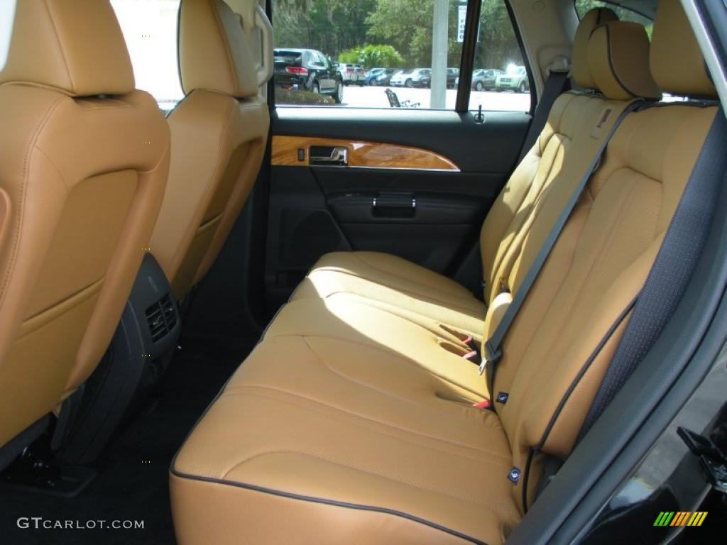 Canyon Charcoal Black Interior 2011 Lincoln Mkx Fwd Photo