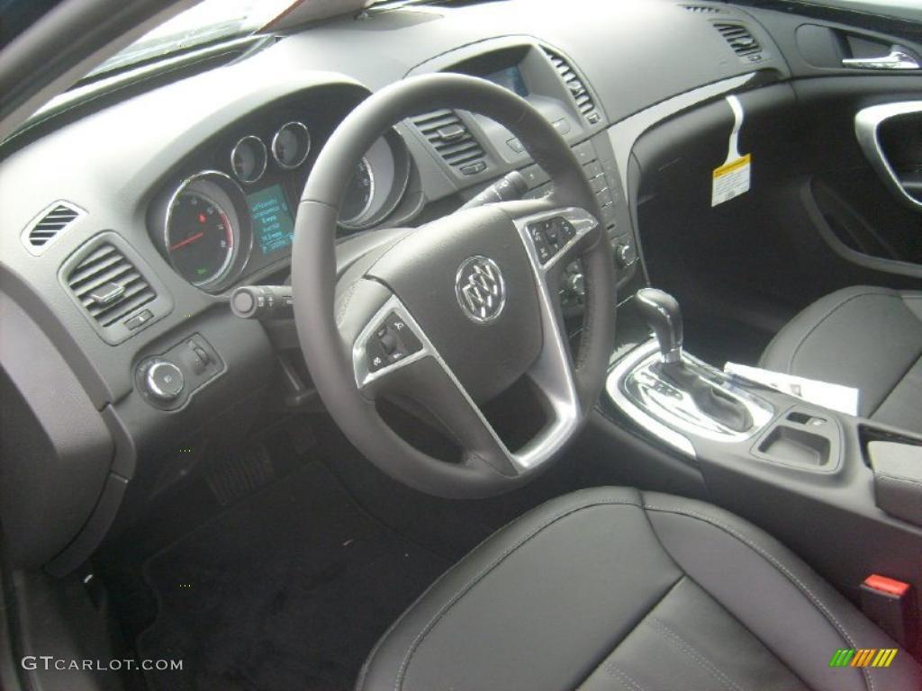 ebony interior 2011 buick regal cxl photo 44637958. Black Bedroom Furniture Sets. Home Design Ideas