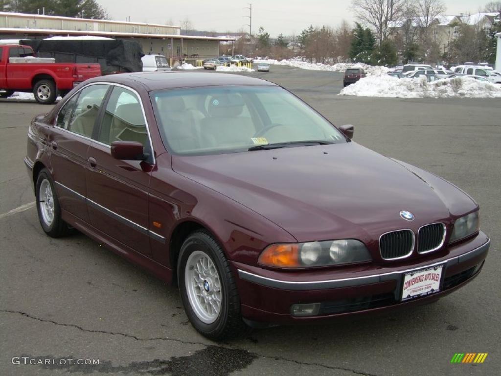 1997 Canyon Red Metallic Bmw 5 Series 528i Sedan 44511038