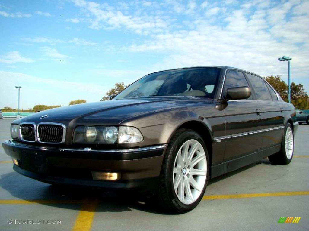 mojave brown metallic 1997 bmw 7 series 740i sedan. Black Bedroom Furniture Sets. Home Design Ideas