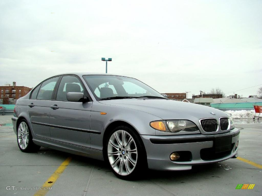 silver grey metallic 2004 bmw 3 series 330i sedan exterior. Black Bedroom Furniture Sets. Home Design Ideas