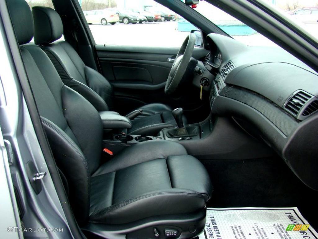 Black Interior 2004 BMW 3 Series 330i Sedan Photo