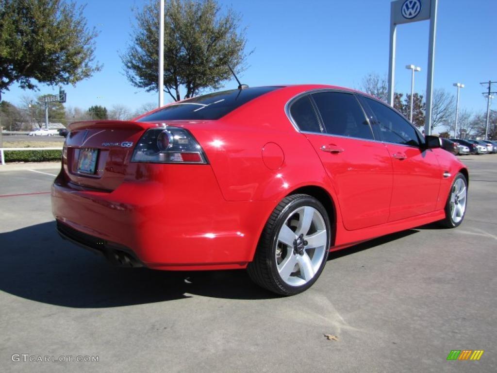 Liquid Red 2009 Pontiac G8 Gt Exterior Photo 44660015 Gtcarlot Com