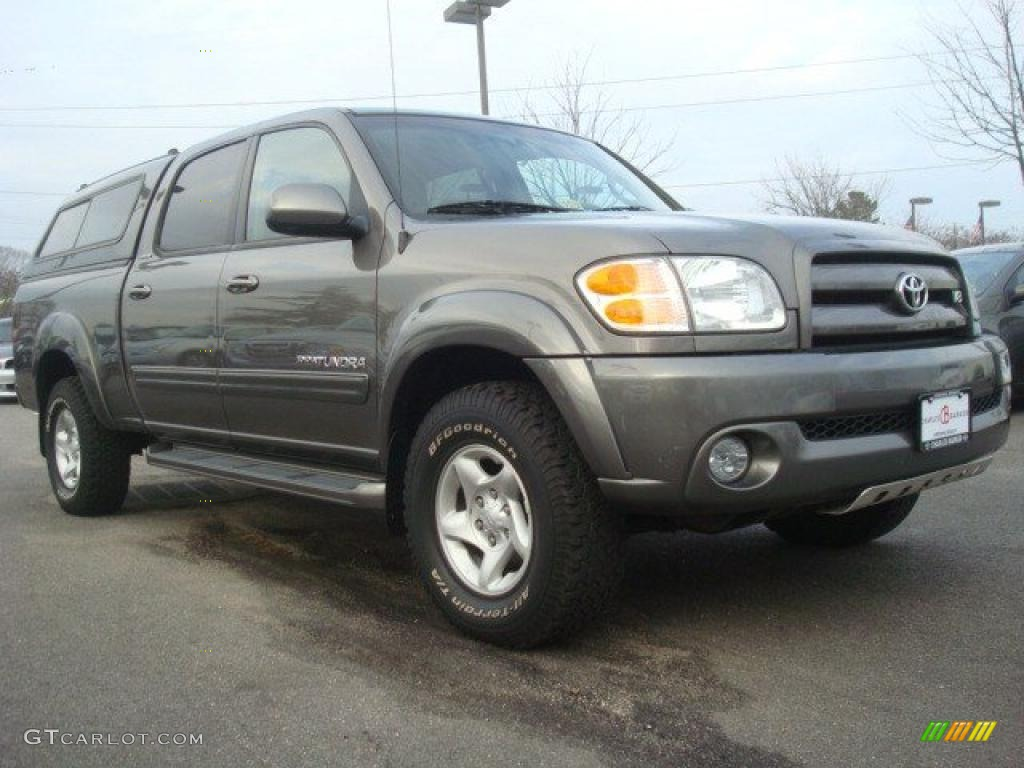 2004 phantom gray pearl toyota tundra limited double cab. Black Bedroom Furniture Sets. Home Design Ideas