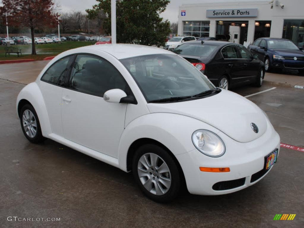 Candy White 2009 Volkswagen New Beetle 2 5 Coupe Exterior Photo 44661679