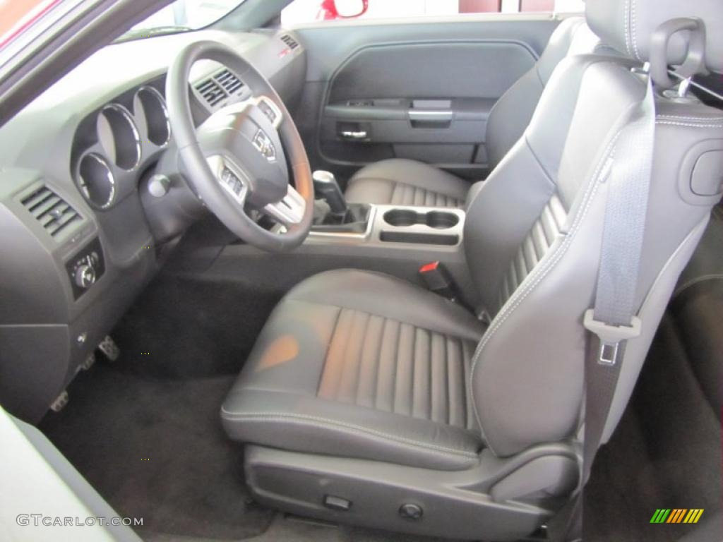 Dark Slate Gray Interior 2011 Dodge Challenger R T Classic Photo 44663735