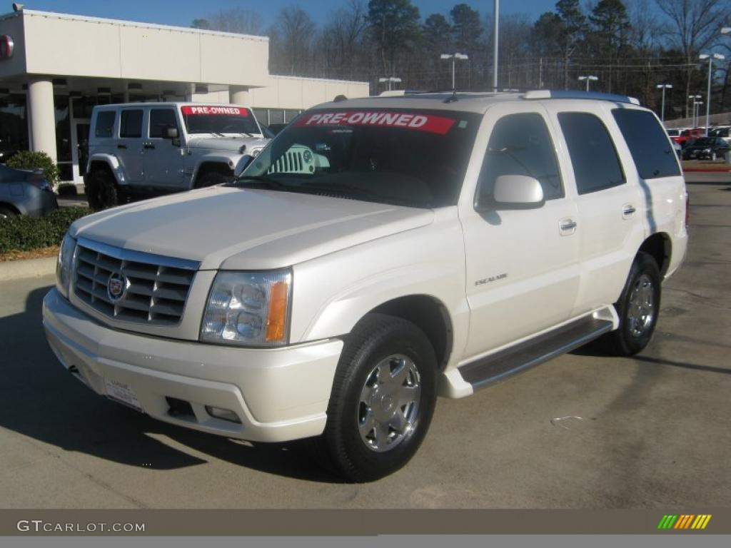 2004 white diamond cadillac escalade awd 44653826 car color galleries. Black Bedroom Furniture Sets. Home Design Ideas
