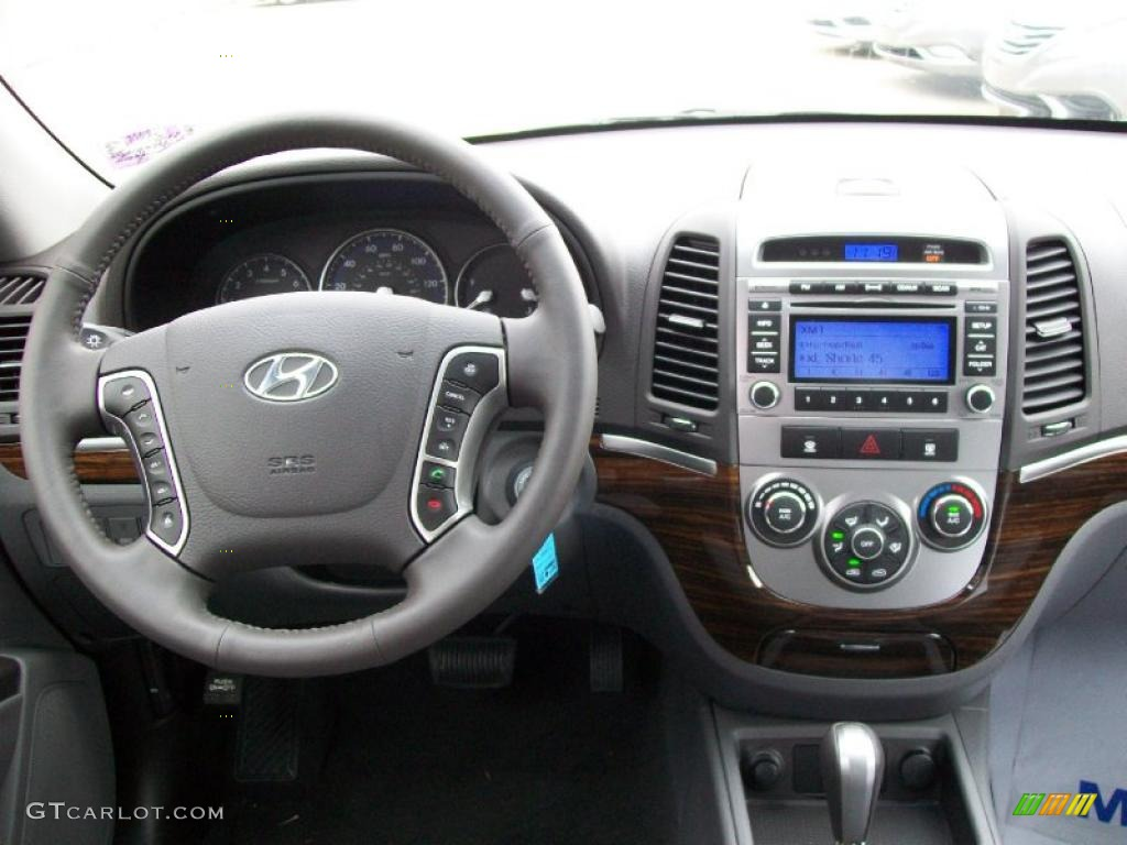 2011 Hyundai Santa Fe Se Gray Dashboard Photo 44674107