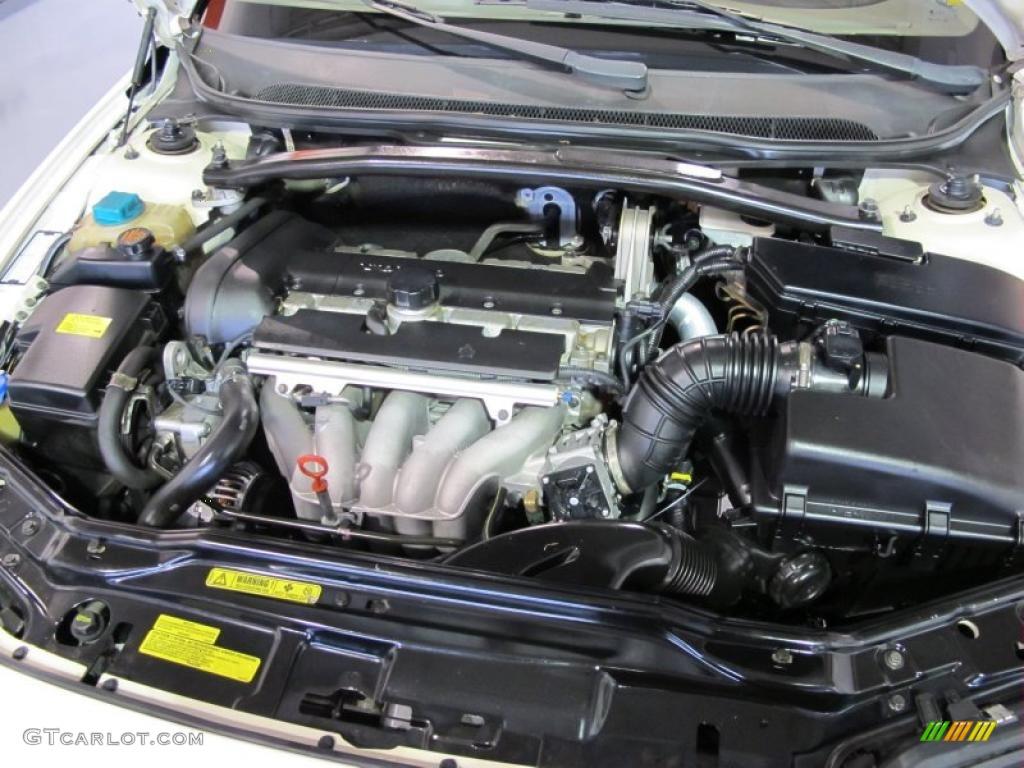 2002 Volvo S60 2 4 2 4 Liter Dohc 20 Valve Inline 5