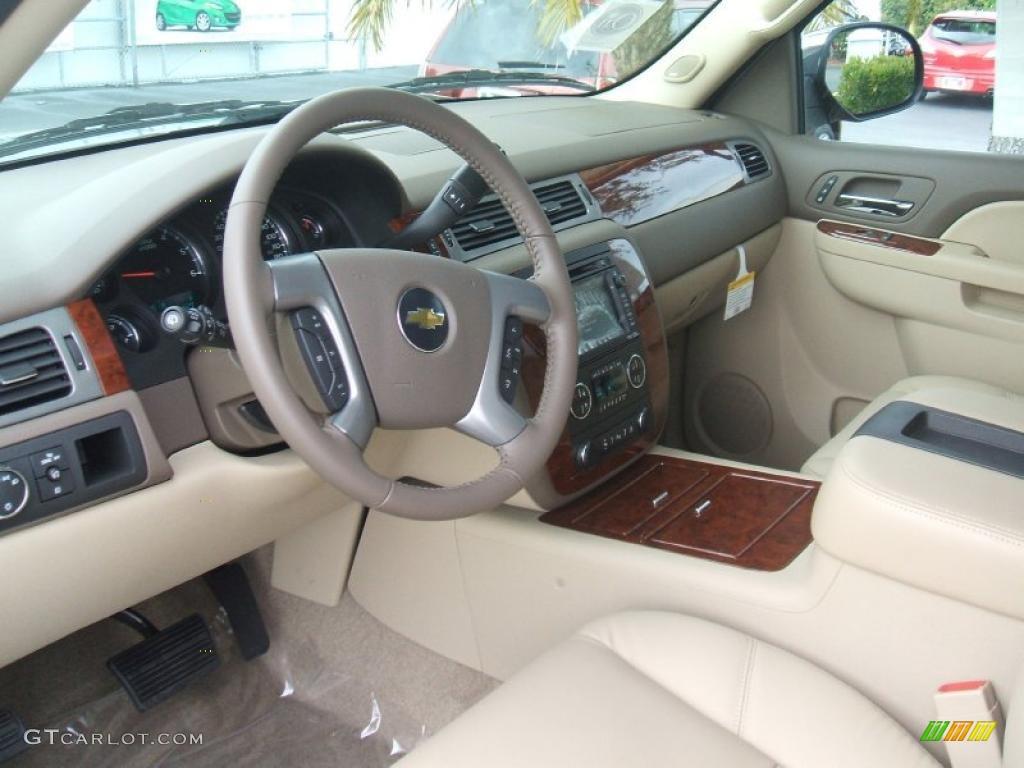 Light Cashmere Dark Cashmere Interior 2011 Chevrolet Tahoe Ltz Photo 44679959