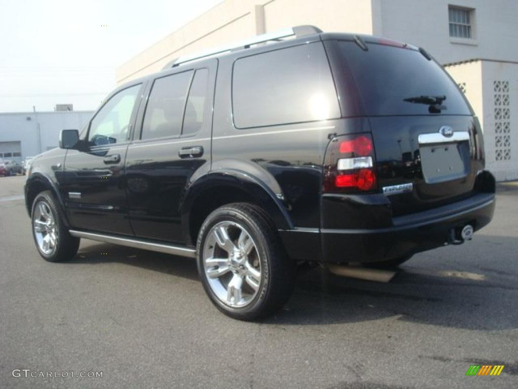 Black 2008 Ford Explorer Limited AWD Exterior Photo #44681747 ...