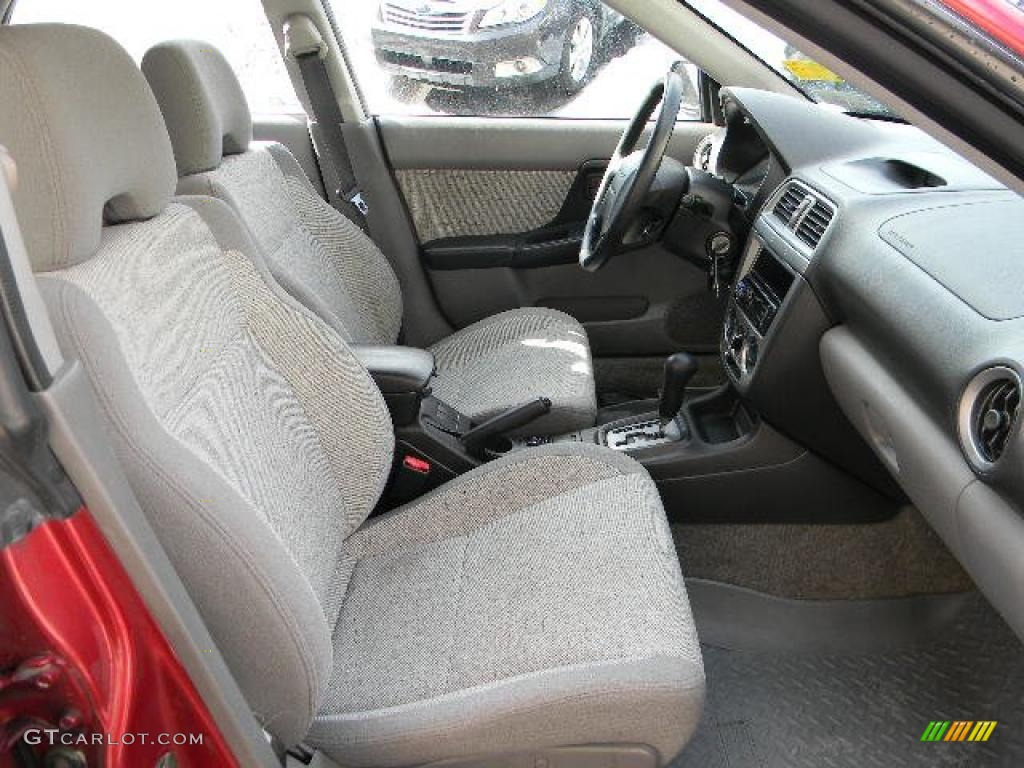 Gray Interior 2002 Subaru Impreza Outback Sport Wagon Photo 44682863