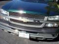 2005 Dark Green Metallic Chevrolet Silverado 1500 Regular Cab  photo #3