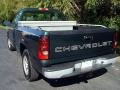 2005 Dark Green Metallic Chevrolet Silverado 1500 Regular Cab  photo #4