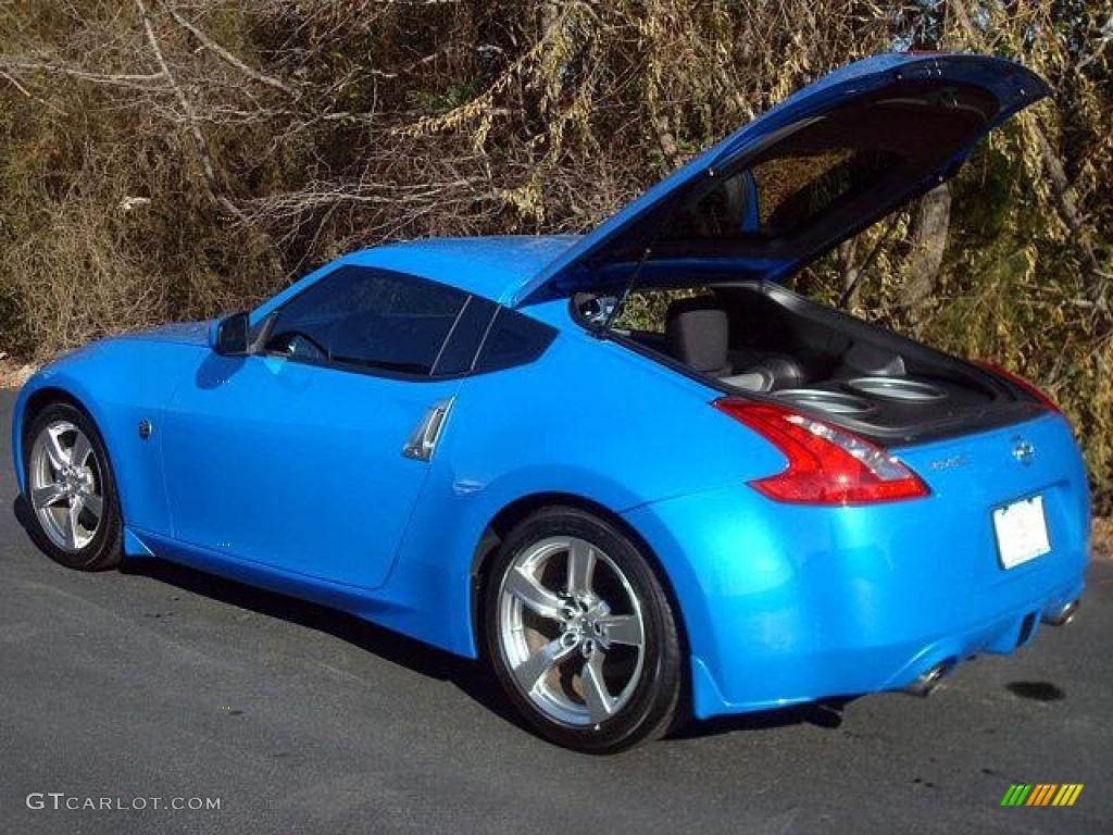 Monterey Blue 2009 Nissan 370z Coupe Exterior Photo 44706146 Gtcarlot Com