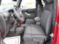 Black Interior Photo for 2011 Jeep Wrangler #44710270