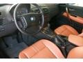 2005 BMW X3 Terracotta Interior Prime Interior Photo