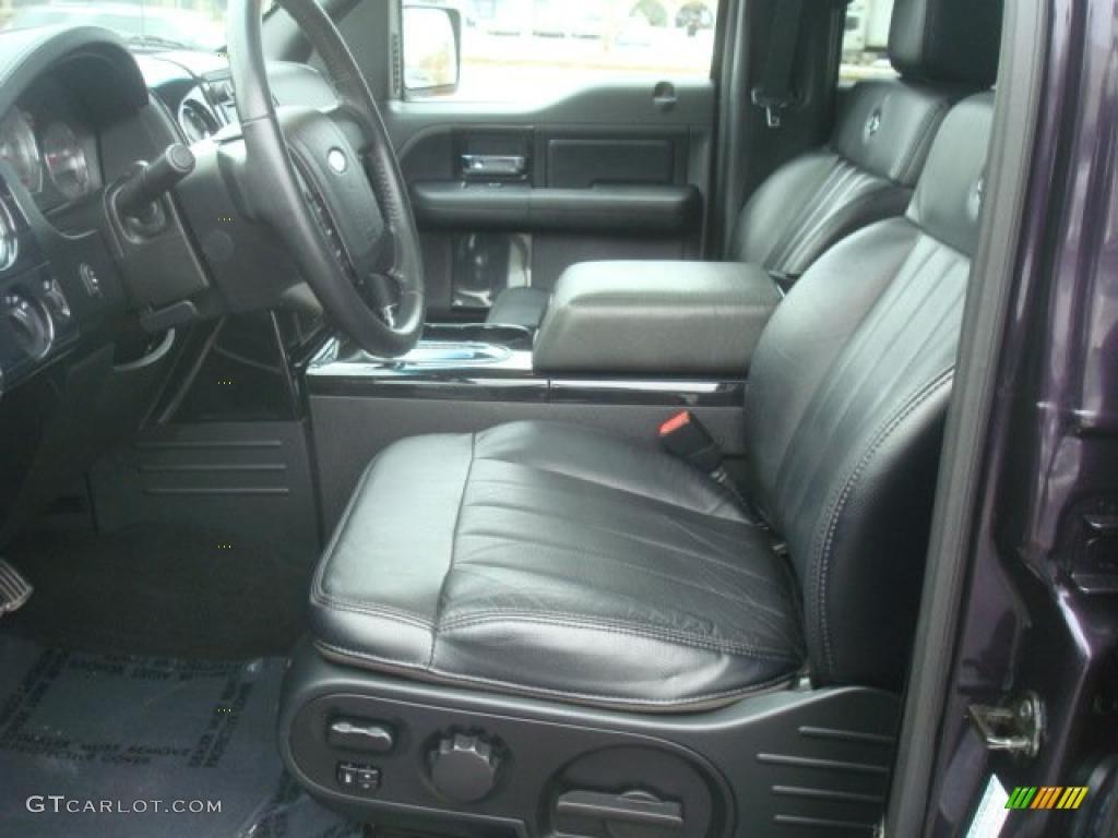 black interior 2007 ford f150 harley davidson supercrew. Black Bedroom Furniture Sets. Home Design Ideas