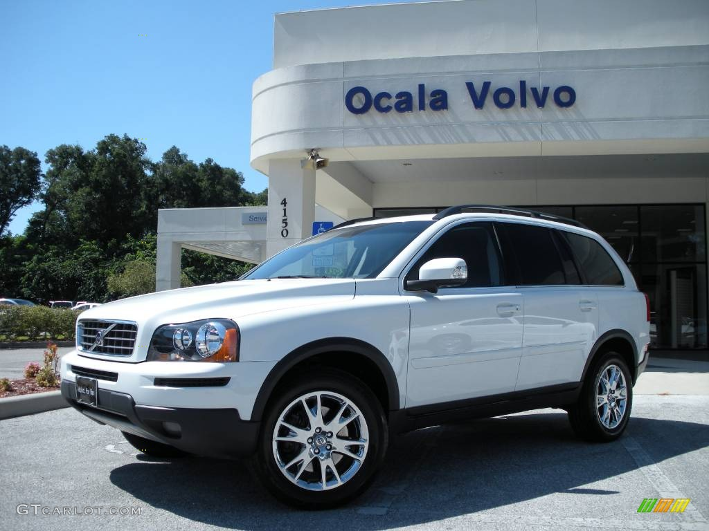 2008 ice white volvo xc90 3 2 440762 car color galleries. Black Bedroom Furniture Sets. Home Design Ideas