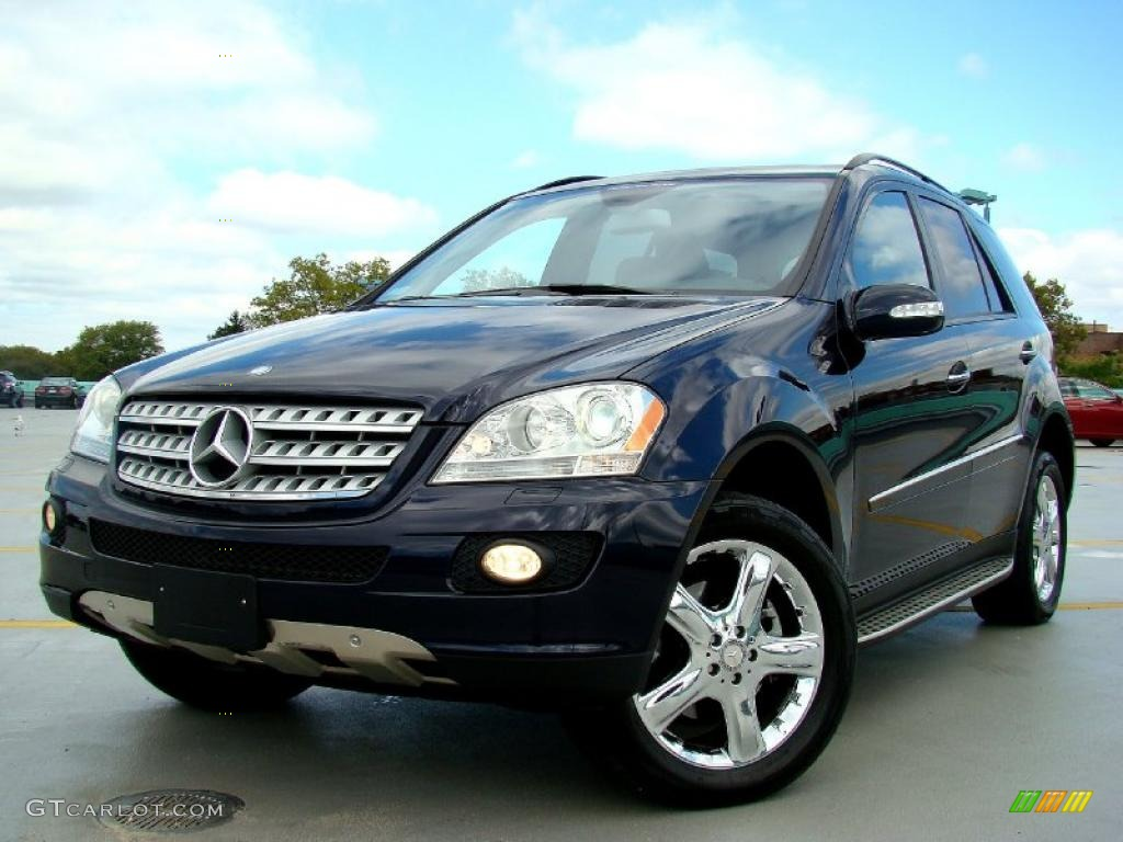 capri blue metallic 2008 mercedes benz ml 350 4matic