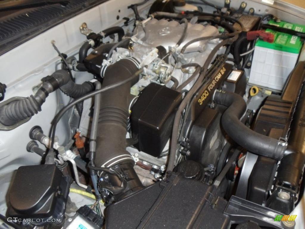 2002 Toyota Tacoma V6 Trd Xtracab 4x4 3 4 Liter Dohc 24
