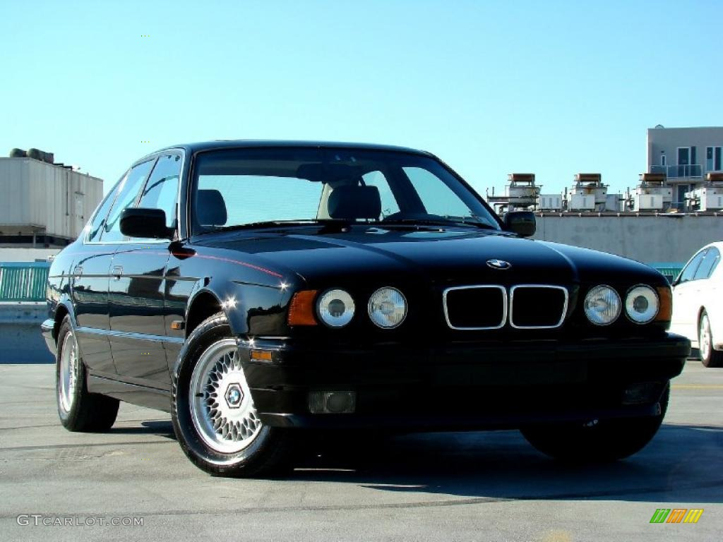 1995 jet black bmw 5 series 540i sedan 44653307 car color galleries. Black Bedroom Furniture Sets. Home Design Ideas