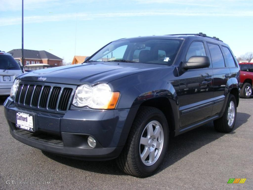 2008 grand cherokee laredo 4x4 steel blue metallic dark slate gray. Cars Review. Best American Auto & Cars Review
