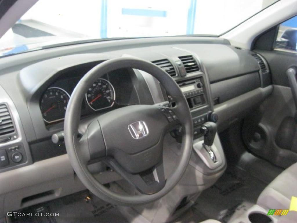 2008 CR-V LX 4WD - Royal Blue Pearl / Gray photo #21