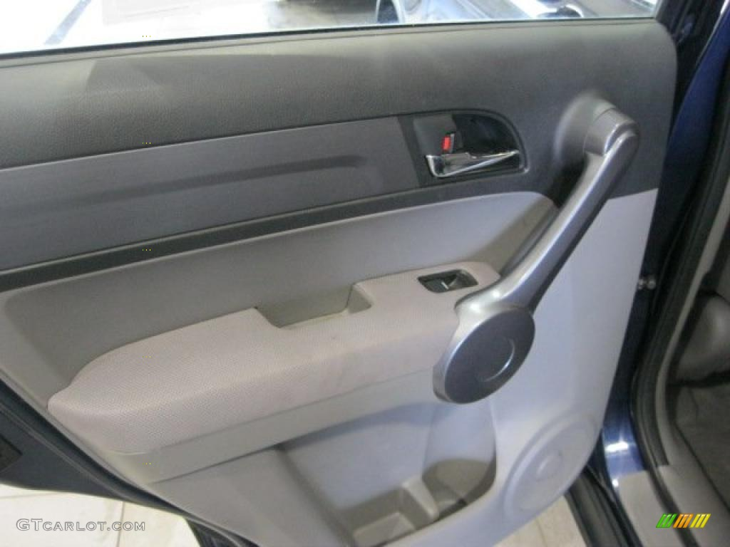 2008 CR-V LX 4WD - Royal Blue Pearl / Gray photo #30