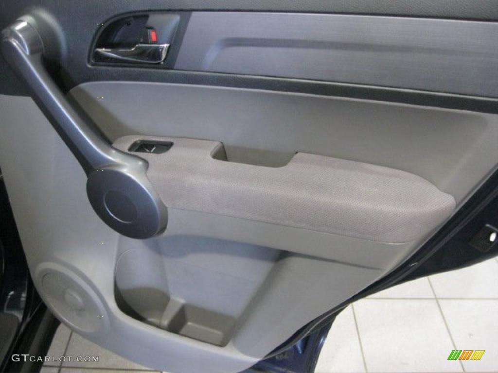 2008 CR-V LX 4WD - Royal Blue Pearl / Gray photo #33