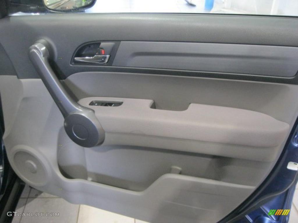 2008 CR-V LX 4WD - Royal Blue Pearl / Gray photo #34