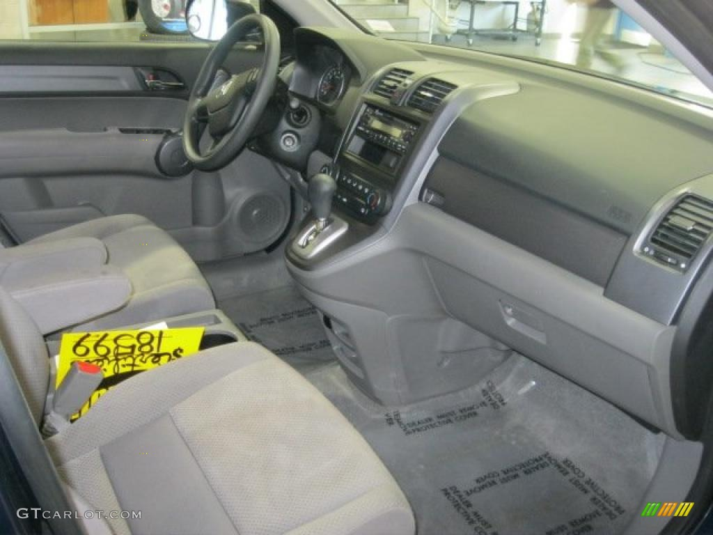 2008 CR-V LX 4WD - Royal Blue Pearl / Gray photo #35