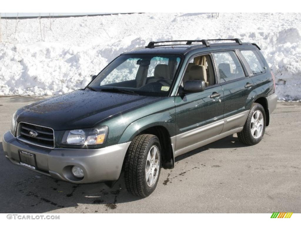 2005 Subaru Forester 2 5 Xs >> 2003 Woodland Green Pearl Subaru Forester 2.5 XS #44734317 | GTCarLot.com - Car Color Galleries
