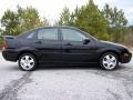 2005 Pitch Black Ford Focus ZX4 SES Sedan  photo #11