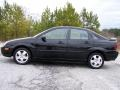2005 Pitch Black Ford Focus ZX4 SES Sedan  photo #12
